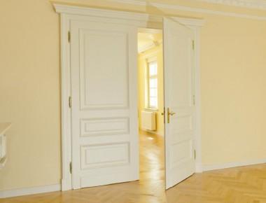 2-flügelige Innentür im Stil der guten alten Zeit