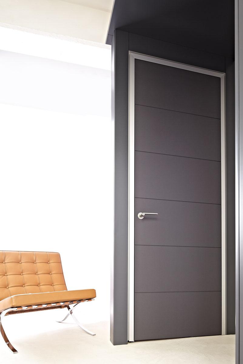 Moderne türen  Materialmix: moderne Innentüren mit Aluminiumzargen