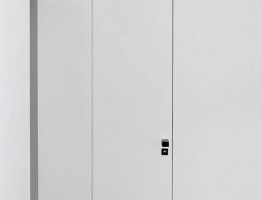 Zargenlose Innentüren, fast unsichtbar schlicht, auch Tapetentüren genannt