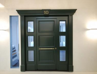 Haustüranlage im englischen Stil