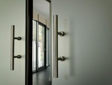 Glastüren für ein außergewöhnliches Architektenhaus