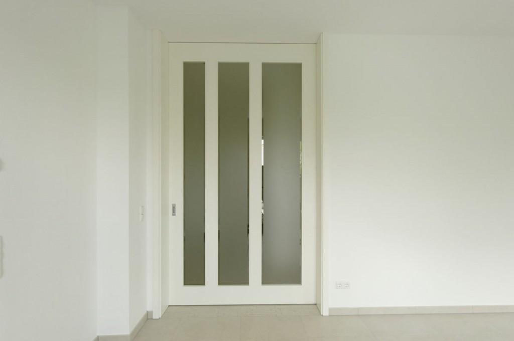 Schiebetür In Der Wand so weiß, so schlicht, so groß und so schön können schiebetüren sein