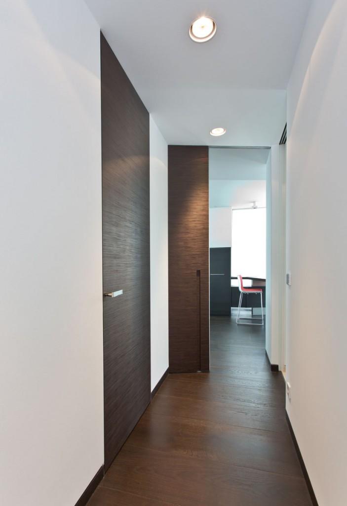 Raumhohe Innentüren moderne innentüren mit prägefurnier