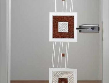 Kunstwerke zum öffnen: Glastüren von Kepka-Art