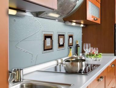 Feines Design in der Küche: Kepka-Art Küchenspiegel